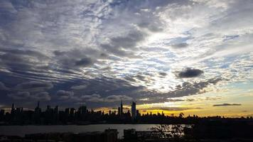 belle new york city sunrise time lapse 4k