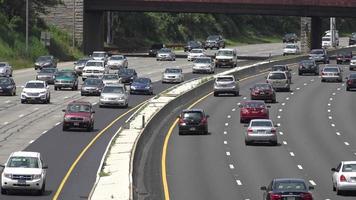 traffico automobilistico interstatale video