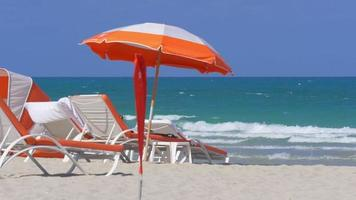 usa miami south beach hotel di lusso con vista sull'oceano 4k florida video