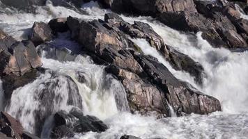 queda d'água no parque das grandes quedas video