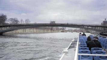 Paris Blick im Winter