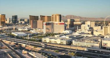Las Vegas Skyline Panning Time Lapse