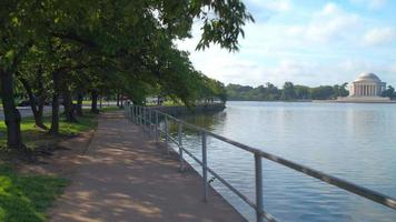 Tidal Basin and the Thomas Jefferson Memorial video