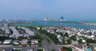 imágenes aéreas de la ciudad atlántica