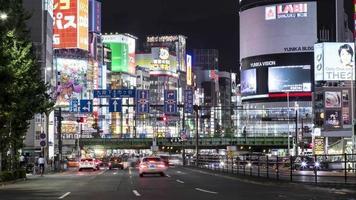 Shinjuku Tokyo night video