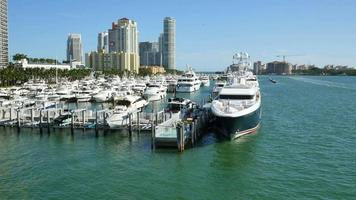 Miami Beach Marina video