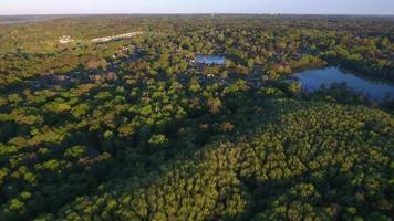 Lake Jackson et les quartiers résidentiels environnants