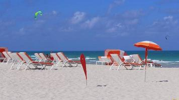 usa summer day south miami luxury hotel beach 4k florida video