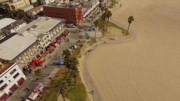 praia aérea de veneza em los angeles video