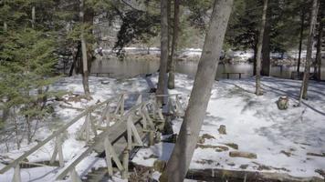 winter in ontario 4k video