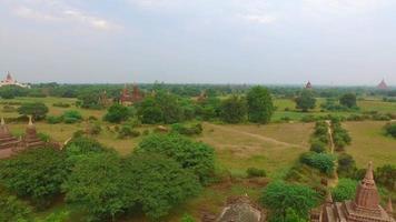 erstaunliche Landschaft der alten Bagan Tempel in Myanmar.