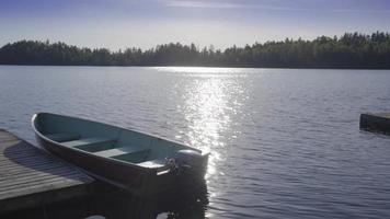 barco de pesca verão ontário ao ar livre canadá lago