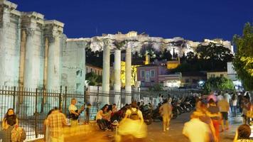 Praça Monastiraki em Atenas video