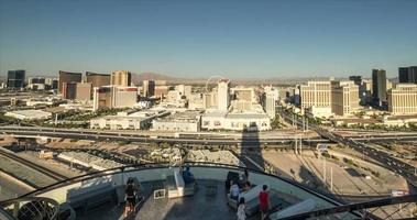 Las Vegas Skyline Time Lapse Pan