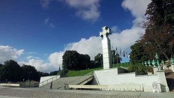 coluna da vitória da guerra da independência, praça da liberdade, Tallinn video