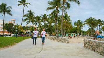 archivi video Ocean Drive Miami Beach