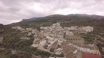 vista aérea de benimantell - marina baixa, costa blanca, alicante, comunidade valenciana, espanha video