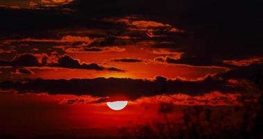 time-lapse van zonsopgang
