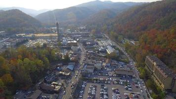 riprese aeree drone gatlinburg tennessee usa video