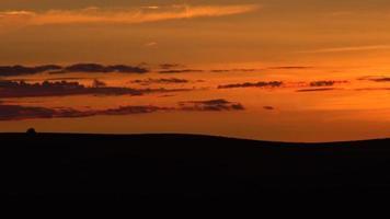 palouse tramonto video