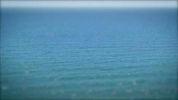 mare calmo dell'oceano video