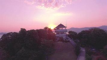 Luftaufnahme auf khao khad Aussichtspunkt phuket