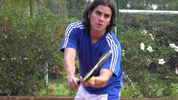 tenis, deportes de raqueta video