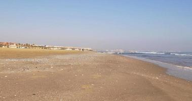 luz del día, valencia, playa, panorama, 4k, españa