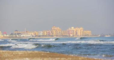 Valencia hotel costa onde 4k spagna