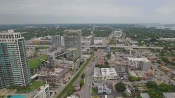 Luftbild Midtown Miami video