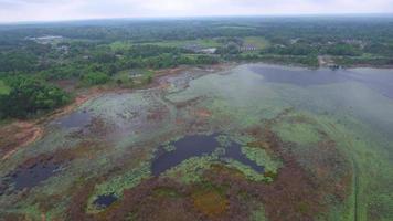 vidéo aérienne du lac jackson