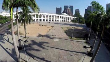 vista aerea di arcos da lapa video
