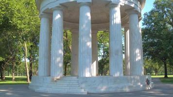 memorial de guerra DC video