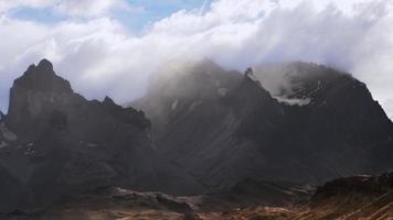 lapso de tempo do chile da patagônia