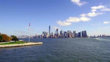South Lower Manhattan Panoramic View 4K