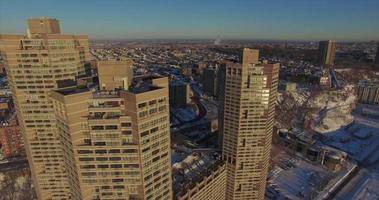 weehawken snow 2016 tre grattacieli video