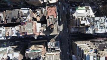antena de tiro aéreo estacionário de nyc video
