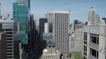 foto aérea nyc video