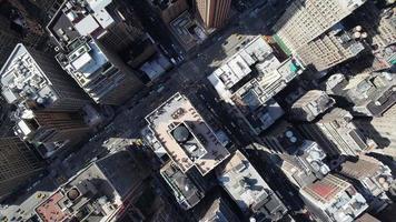 aérea de nyc lenta panorâmica video