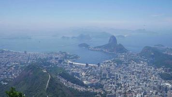 Rio de janeiro, vista desde el corcovado video