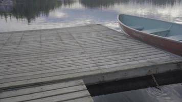See Ontario Kanada Wildnis Waldbäume Fischerboot