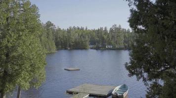 Fischerboot Sommer Ontario Outdoor Kanada See