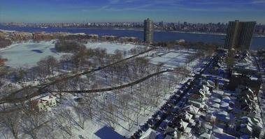 Weehawken snow 2016 cavalcavia di terra innevata video