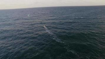 surfista aéreo e oceano video