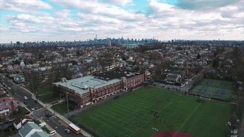 Cliffside Park nj flyover school mudando para o centro video