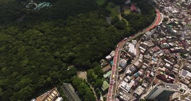 fotos aéreas do Japão em Tóquio
