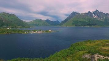 igreja sildpollness nas ilhas lofoten na noruega video