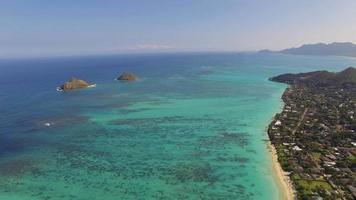 Luft oahu moku nui und moku iki Inseln video
