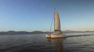 Sailing Catamaran video