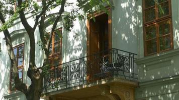 Shadows and Beautiful Balcony video